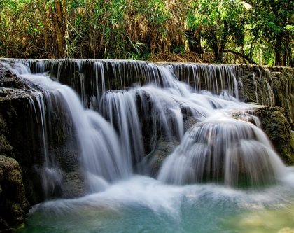 Water Conservation Waterfall